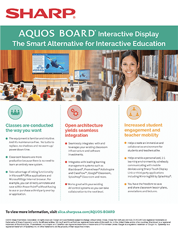 doc AQUOS BOARD Education