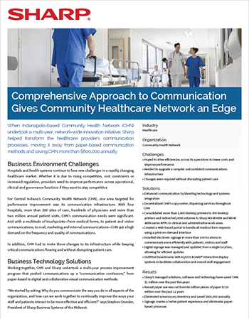 doc Community Health Network CaseStudy